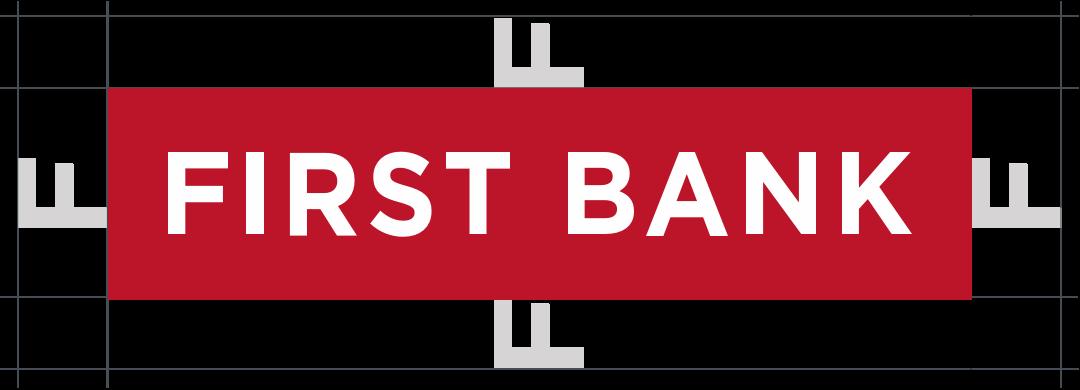 First Bank Logo - Spacing Guide