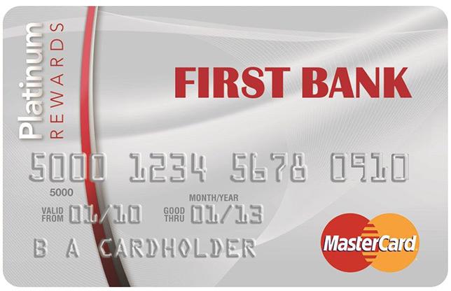 First Bank Card