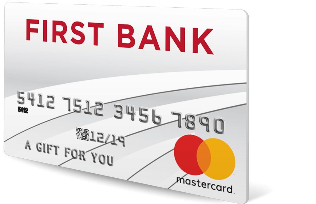 First Bank Personal Gift Card