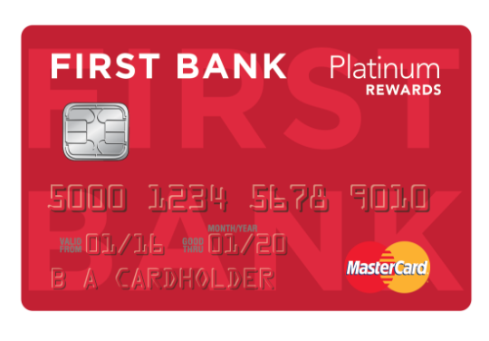First Bank Platinum Credit Card